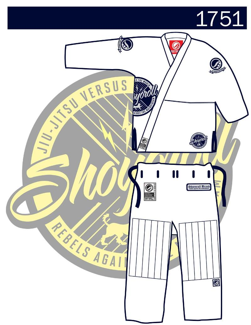 Shoyoroll guma member s gi 171 sea mma gear guide